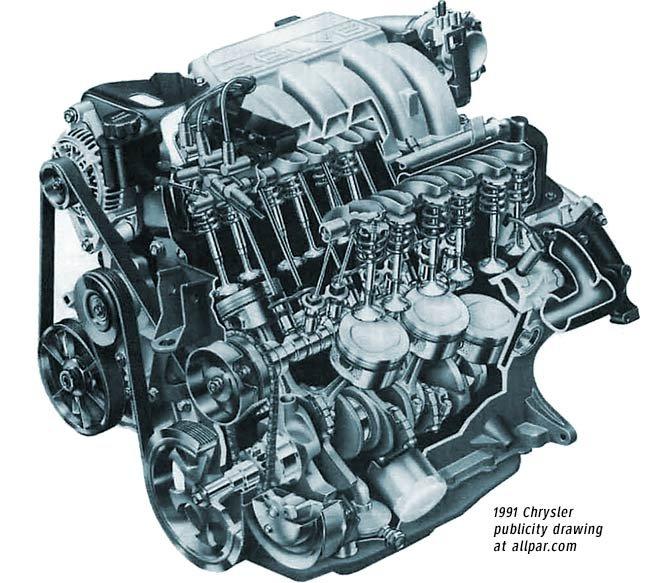 Chrysler 3.8 liter horsepower #3