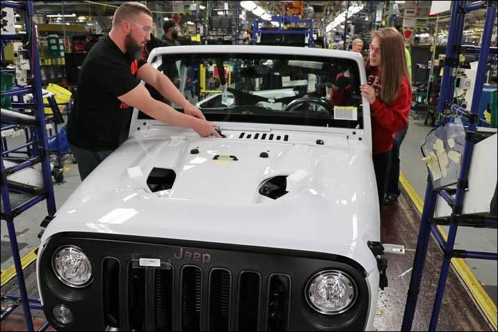 last jeep wrangler JK