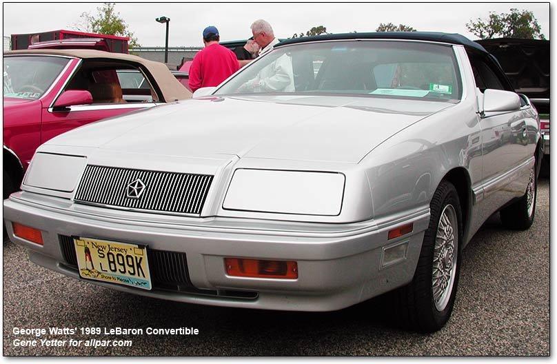 Chrysler lebaron coupe and convertible 1989 chrysler lebaron convertible fandeluxe Gallery