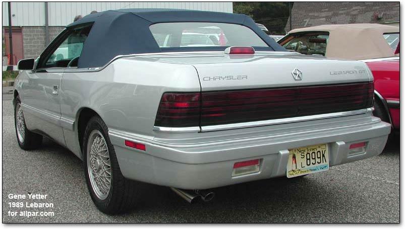 Chrysler lebaron coupe and convertible chrysler lebaron fandeluxe Gallery