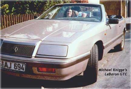 Chrysler lebaron coupe and convertible german chrysler lebaron convertible fandeluxe Gallery