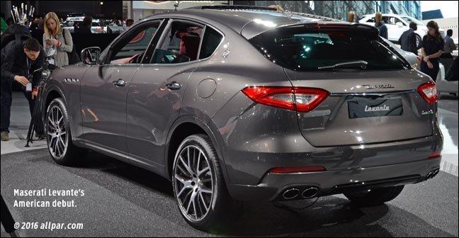 Chrysler Based Maserati Levante Crossover Suv