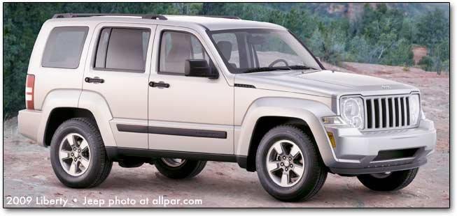 chrysler jeep and dodge 2009 cars trucks and minivans. Black Bedroom Furniture Sets. Home Design Ideas