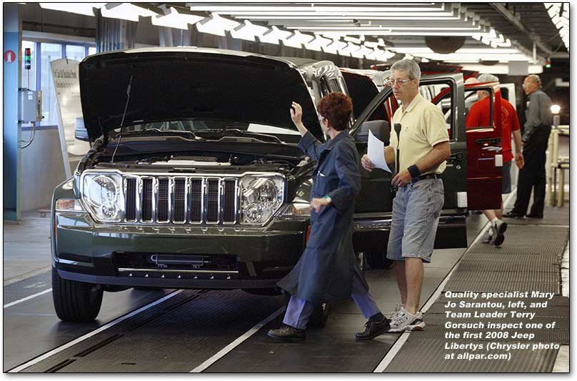 Jeep Liberty assembly