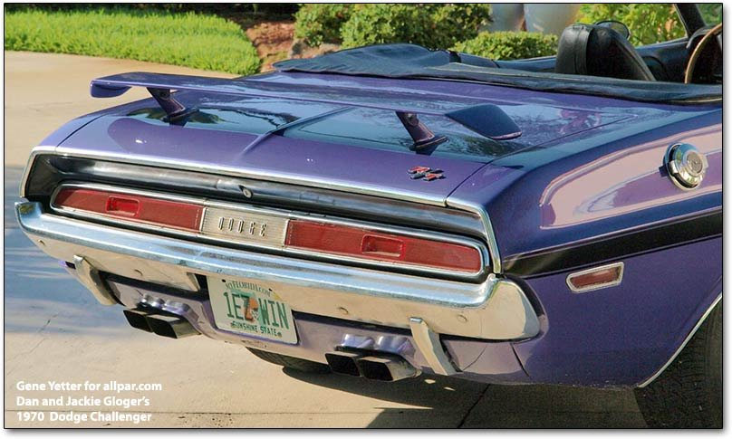 Car Of The Month June 2009 The Gloger S 1970 Dodge
