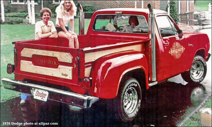 The Dodge Li'l Red Pickup Truck