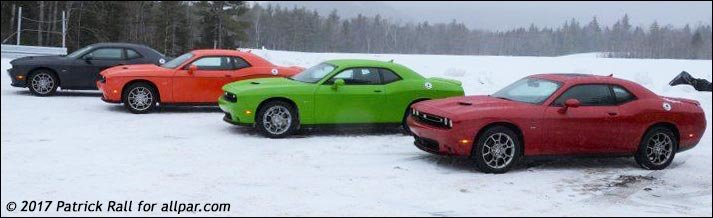 Testing A Dodge Challenger GT AWD In The Snow With Video - Cool cars awd