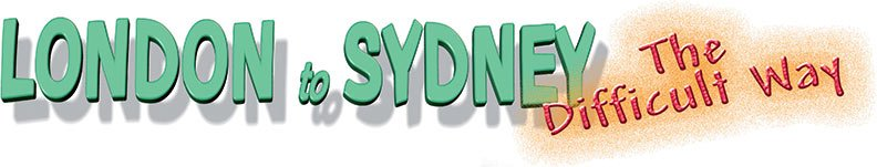 London to Sydney rally logo