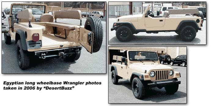 long wheelbase Jeep Wrangler