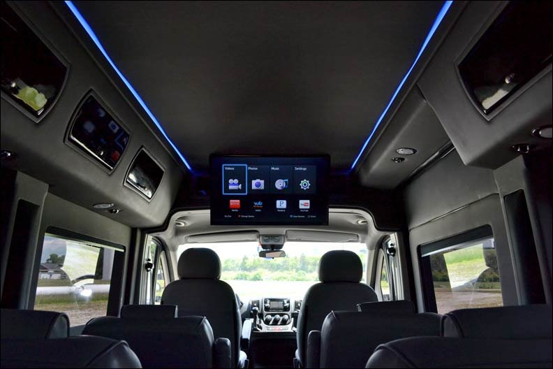 Sherry Luxury Vans Based On The Ram ProMaster