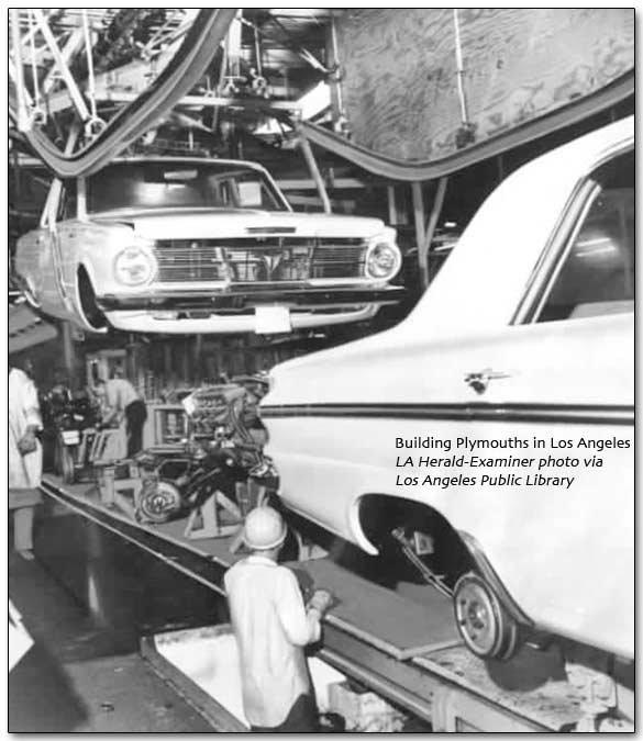 Cherokee Jeeps Lynch Road, Detroit: Plymouth-DeSoto Factory
