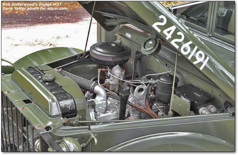 leo underwood s vintage dodge and willys military trucks m37 bed
