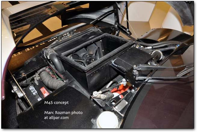 M4S / PPG pace car engine