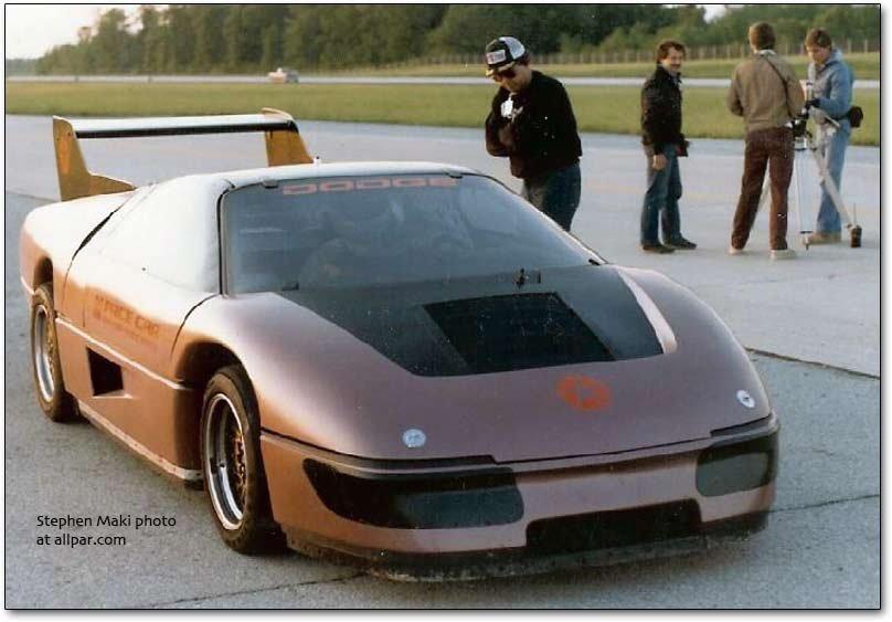 Dodge M4S Turbo concept basis of the Wraith Car