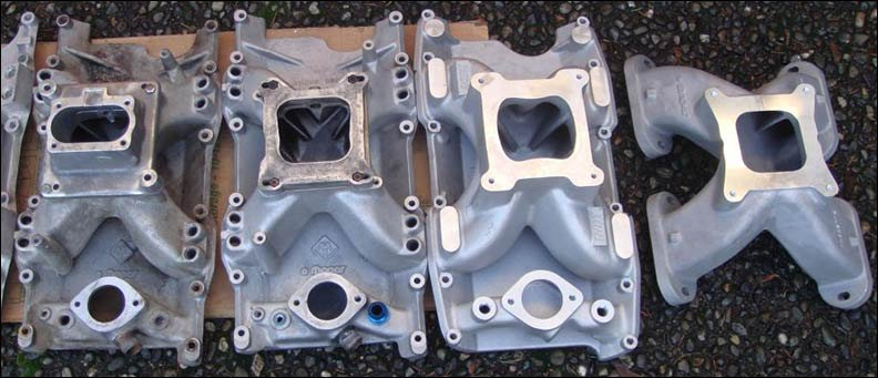 testing intake manifolds for the 5 2    5 9 magnum v8 engines