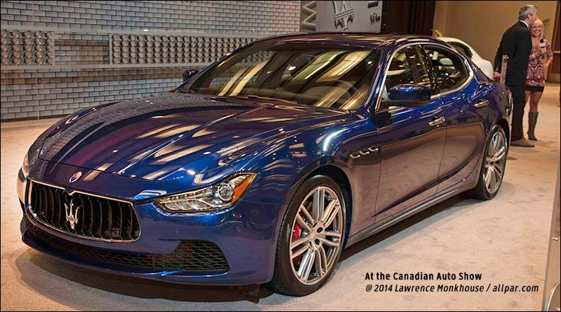 News Maserati To Join Chrysler With Hybrids
