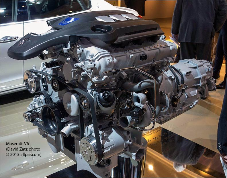 News: Report: Maserati V6 comes from Pentastar engine