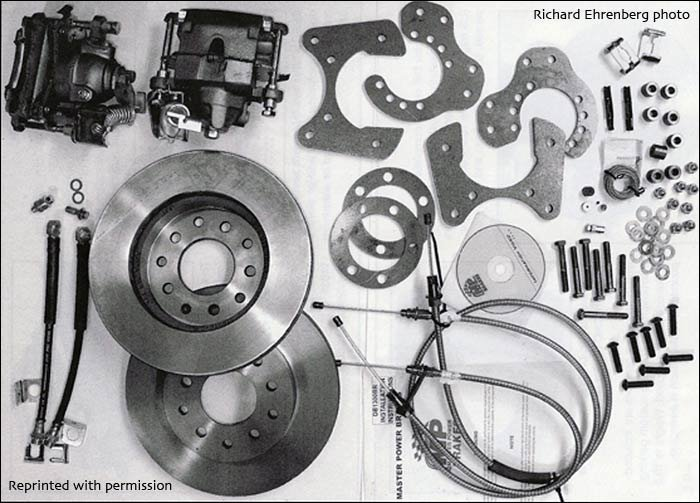 master power rear disc brake kit for Mopars