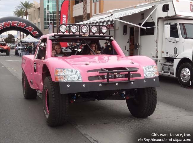 McCaslin car getting weighed