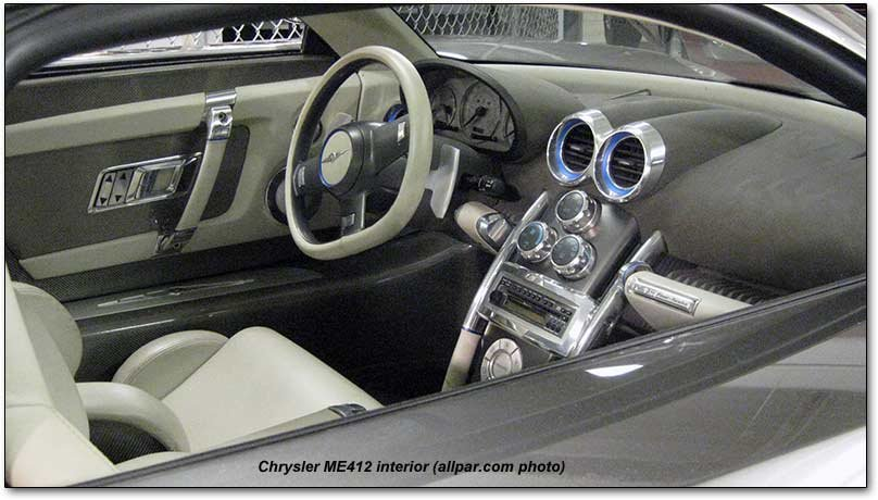 Chrysler Me Four Twelve Concept Car