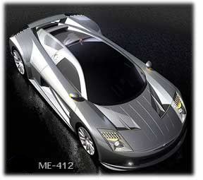 Dodge ME-412 supercar concept