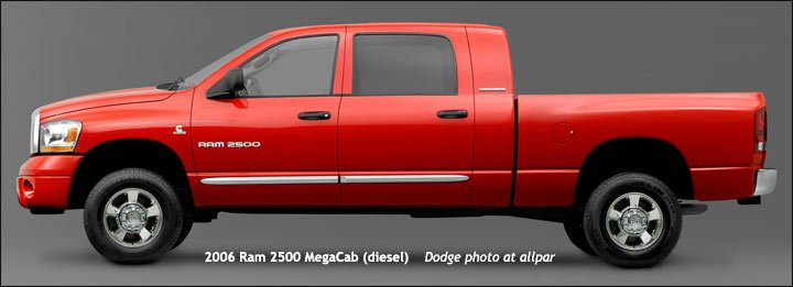 2009 dodge 2500 diesel weight