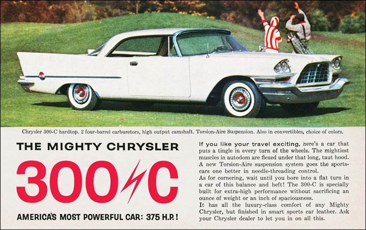 The Chrysler 300 Letter Cars C300 To 300l