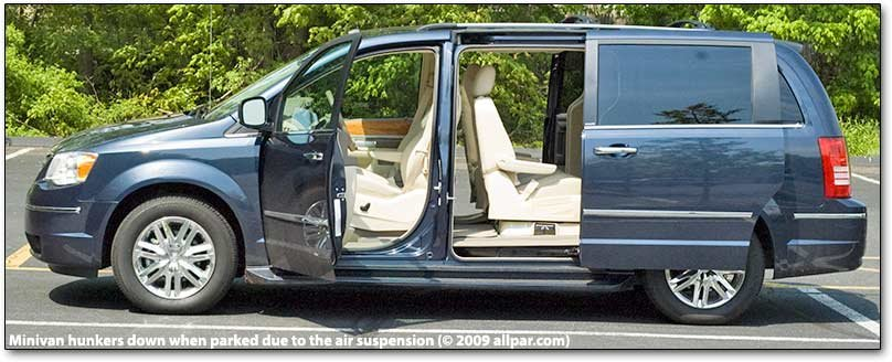 2008 And 2009 Chrysler Town Amp Country Limited Minivan Car