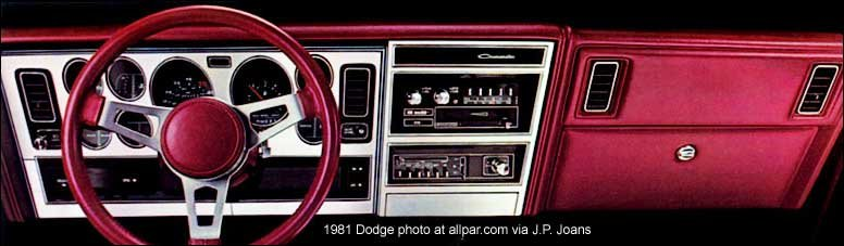 dodge mirada dashboard