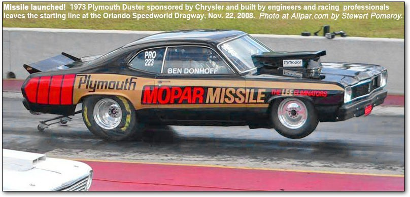 mopar missle launch
