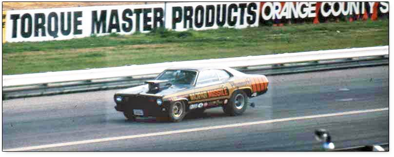 Mopar Missile development team, 1972