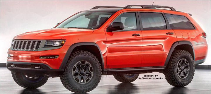 next generation Jeep Grand Cherokee