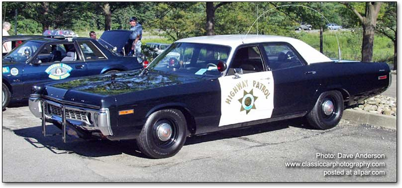 The Dodge Monaco police car