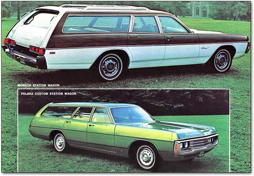 Dodge Monaco: the near-luxury (then midsize) cars of the