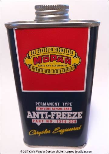mopar antifreeze