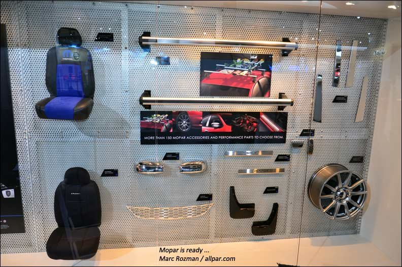Mopar display