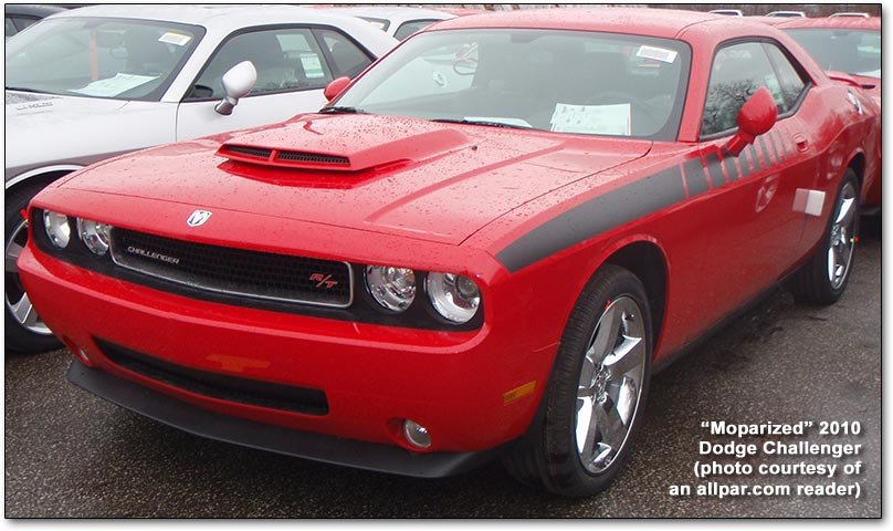 Moparized Dodge Challenger cars