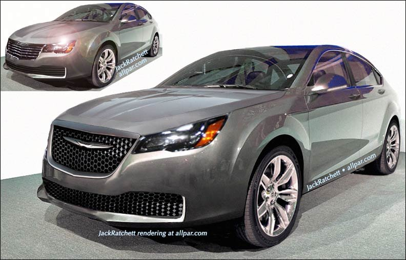2015 Chrysler 200 rendering