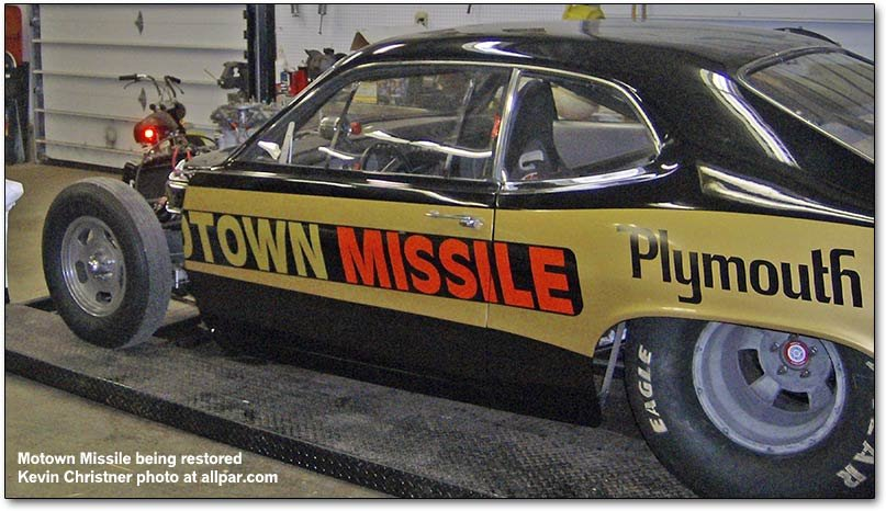 motown missile being restored