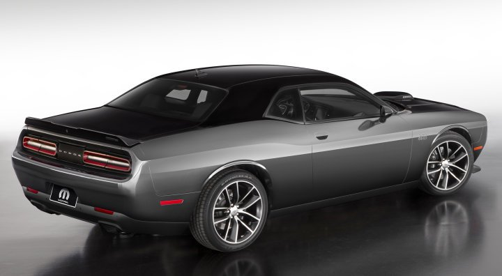 ... Production Vehicle Is Powered By The 392 Cubic Inch Hemi With 485  Horsepower And 475 Pound Feet Of Torque, Making This Limited Edition Dodge  Challenger ...
