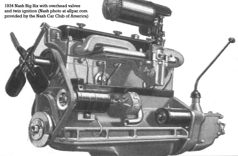 Nash Big Six engine