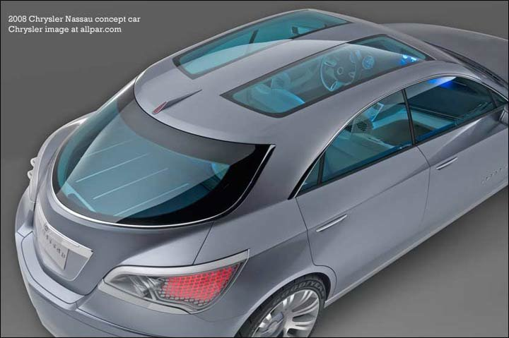 2007 chrysler nassau concept car