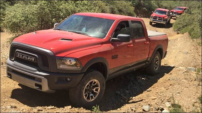 2016 Ram Rebel for Rebelle Rally