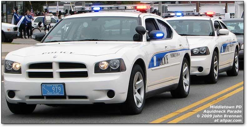 2009 Aquidneck Park National Police Car Parade