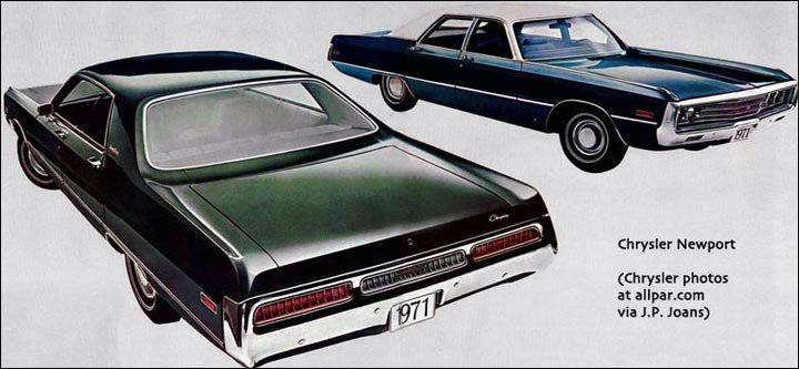 Chrysler Newport cars