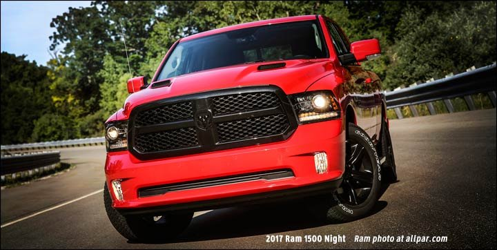 The 2017 Ram 1500 Night Package Adds A Blackout Package To The ...