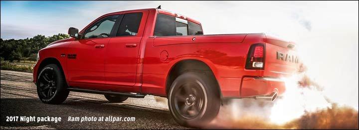 2017's Ignition Orange and Rebel Mojave Sand pickups