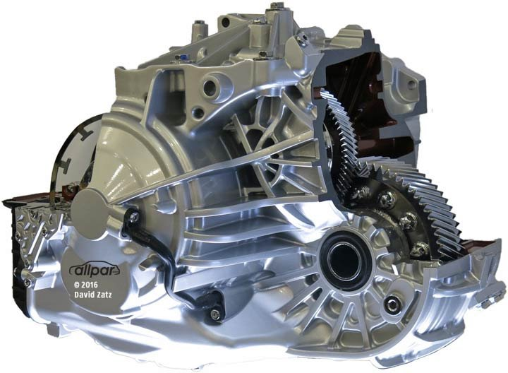 ZF 9-Speed Automatic Transmission for Chrysler and Dodge cars