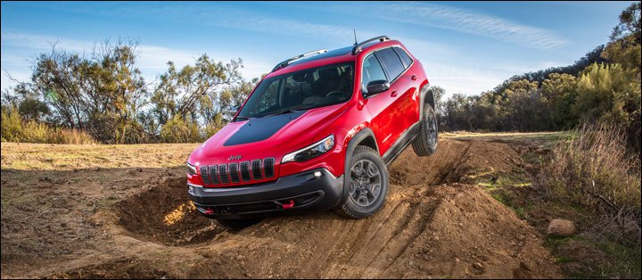 2019 Jeep Cherokee off-road