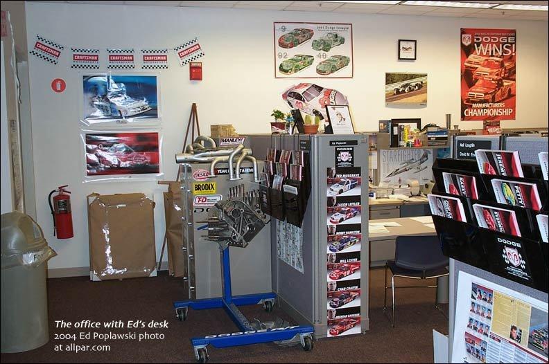 Ed Poplawski Part Ii 17 Years Supporting Mopar Racing